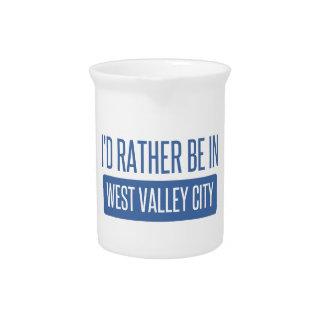 Jarra Para Bebidas Estaría bastante en la ciudad del oeste del valle