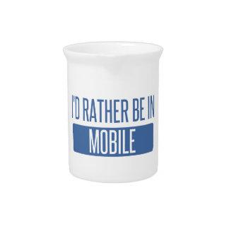 Jarra Para Bebidas Estaría bastante en móvil