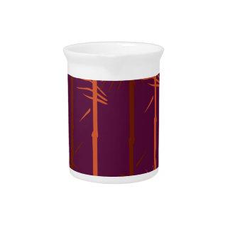 Jarra Para Bebidas Ethno de bambú de la edición del vino del diseño