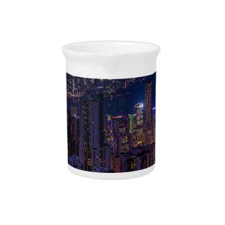 Jarra Para Bebidas Horizonte de Hong Kong