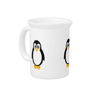 Jarra Para Bebidas Jarro/jarra del fiesta del pingüino