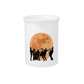 Jarra Para Bebidas Jazz del claro de luna