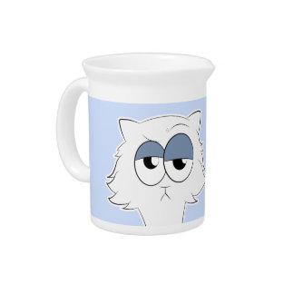 Jarra Para Bebidas Llama gruñona del gato persa