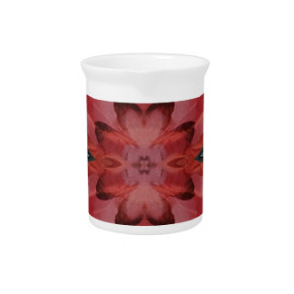 Jarra Para Bebidas Modelo coloreado rosa moderno fresco