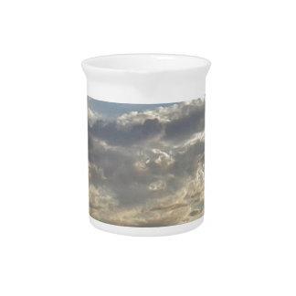 Jarra Para Bebidas Porciones de nubes