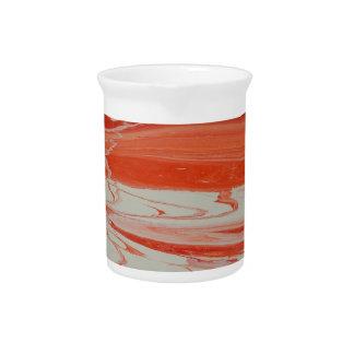 Jarra Para Bebidas Remolino anaranjado
