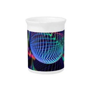 Jarra Para Bebidas Remolinos y líneas en la bola de cristal