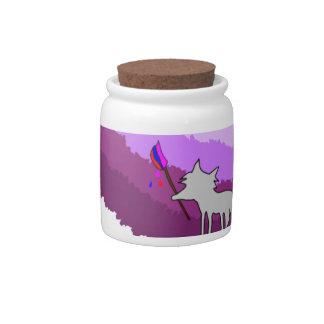 Jarra Para Caramelo Fox de colores