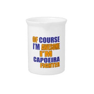 Jarra Por supuesto soy combatiente de Capoeira