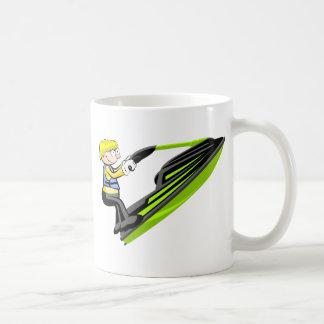 Jarro Jet Ski para el desayuno Taza De Café