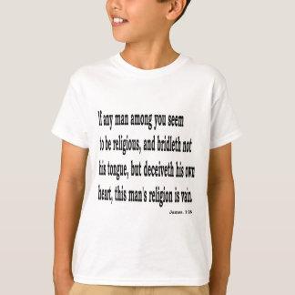 Jas. 1:26, w camiseta