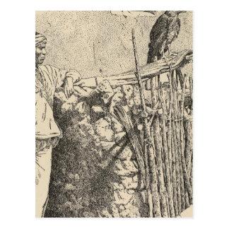 Jaula del águila de Zuni Postal