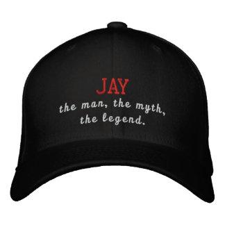 Jay el hombre, el mito, la leyenda gorras bordadas