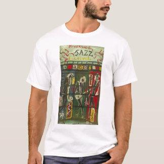 Jazz de la orilla camiseta