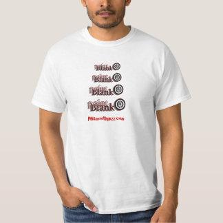 Jazz liso en blanco del punto camisetas