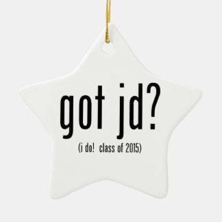¿jd conseguido? ¡(hago! clase de 2015) adorno de cerámica en forma de estrella