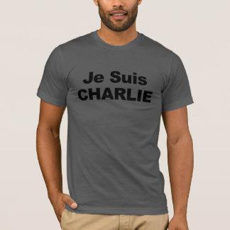 Je Suis Charlie - soy Charlie Camiseta