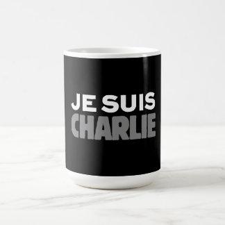 Je Suis Charlie - soy negro de Charlie Taza De Café