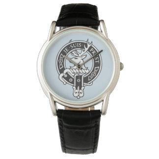 Je Suis Prest - escudo de Fraser del clan Reloj De Pulsera