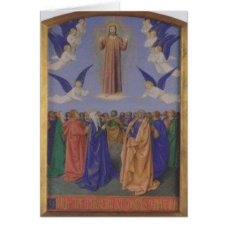 Jean Fouquet- la ascensión del Espíritu Santo Felicitaciones