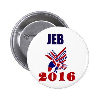 Jeb Bush para presidente Political Art Chapa Redonda 5 Cm