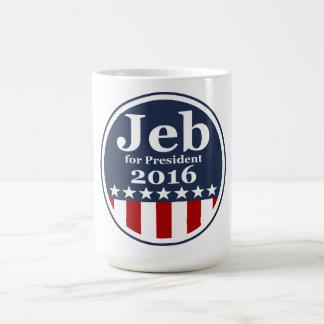 Jeb para las tazas del presidente 2016 campaña