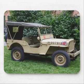 Jeep del MB de Willys Alfombrilla De Ratón