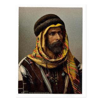 Jefe beduino del Palmyra, Tierra Santa (es decir,  Postal