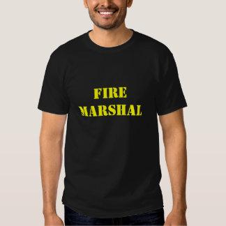 Jefe de bomberos camisas