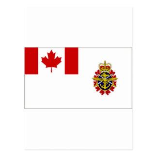 Jefe de Canadá de la bandera del personal de Postal