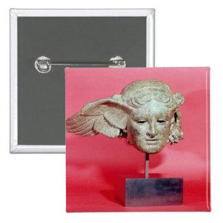 Jefe de Hypnos, copia de una original helenística Chapa Cuadrada