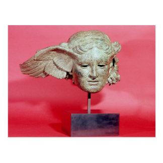 Jefe de Hypnos, copia de una original helenística Postal