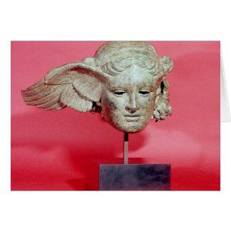 Jefe de Hypnos, copia de una original helenística Tarjeta De Felicitación