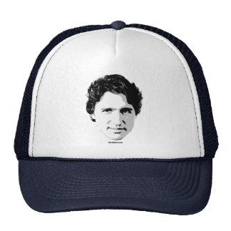 Jefe de Justin Trudeau del pelo - .png Gorros Bordados