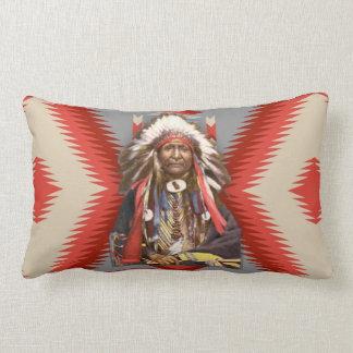 Jefe de Navajo Cojín Lumbar
