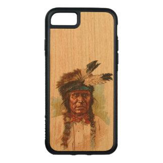Jefe de Siux del Blackfoot: Trueno rojo Funda Para iPhone 8/7 De Carved