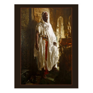 Jefe del Moorish de Eduard Charlemont Tarjeta Postal