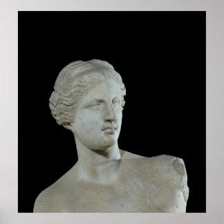 Jefe del Venus de Milo, c.100 A.C. Póster