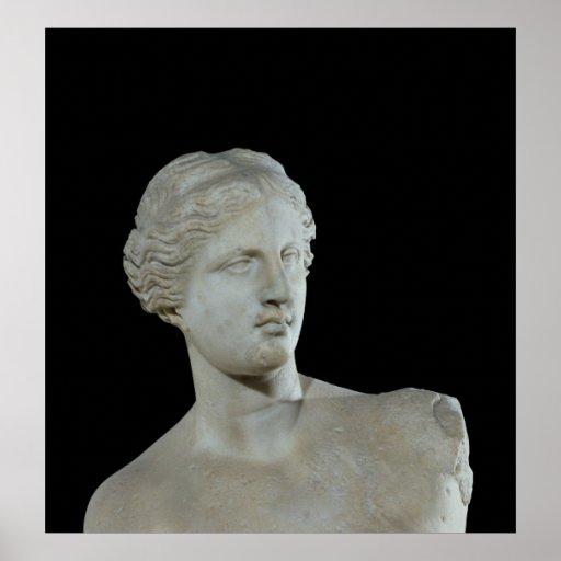 Jefe del Venus de Milo, c.100 A.C. Impresiones