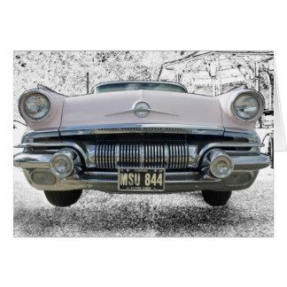 Jefe estupendo 1957 de Pontiac Tarjeta De Felicitación