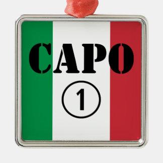 Jefes italianos Uno de Numero de la ceja Ornamentos De Reyes Magos