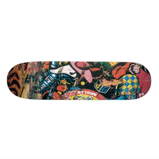 Jeff Grosso · Toybox · Santa Cruz  · 1987 Patín Personalizado