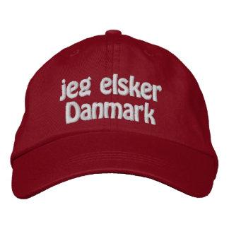 Jeg Elsker Danmark Gorras De Beisbol Bordadas