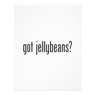 jellybeans conseguidos flyer personalizado