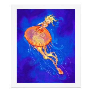 Jellymaid anaranjado impresiones fotográficas