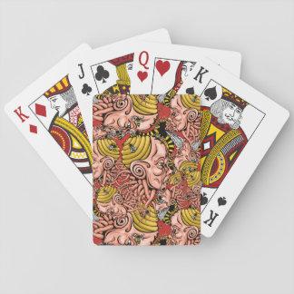 jerarquía de la avispa - diseño principal de la baraja de cartas