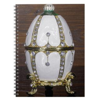 Jerarquía de los huevos de las perlas cuaderno