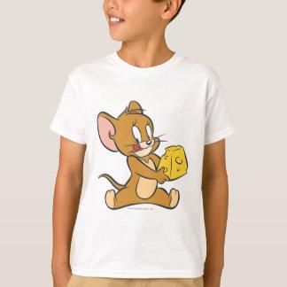 Jerry tiene gusto de su queso camiseta
