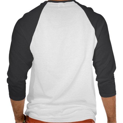 Jersey de béisbol ciego de la ardilla camiseta