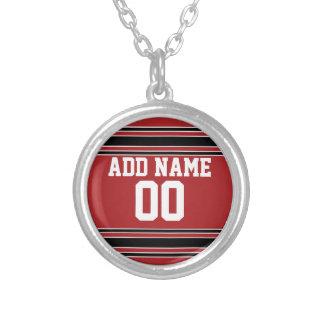 Jersey de equipo con nombre y número de encargo collares personalizados